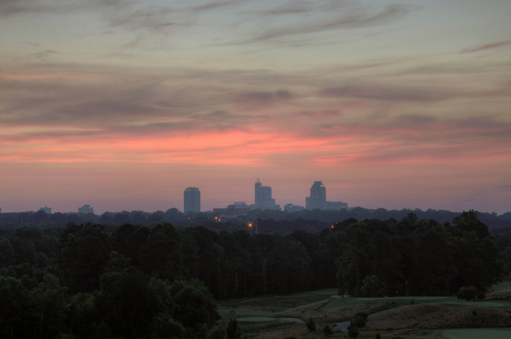 Raleigh Sunrise 20130626