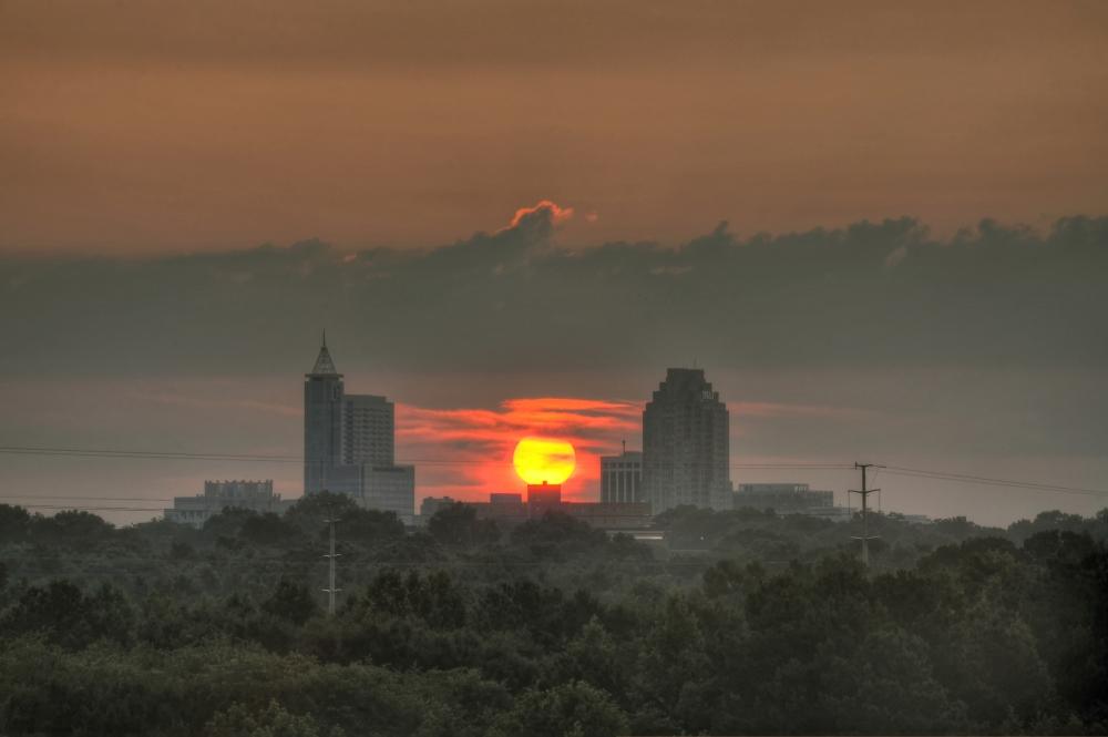 Raleigh Sunrise 20130717