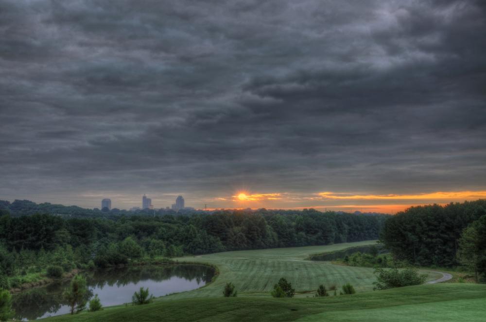 Raleigh Sunrise 20130807