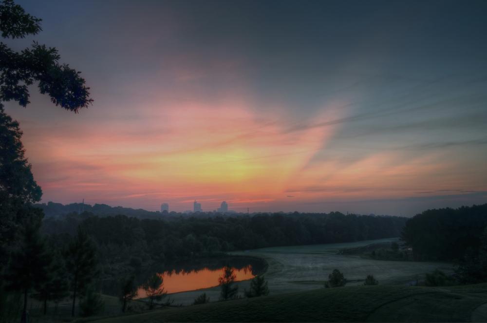 Raleigh Sunrise 20130809