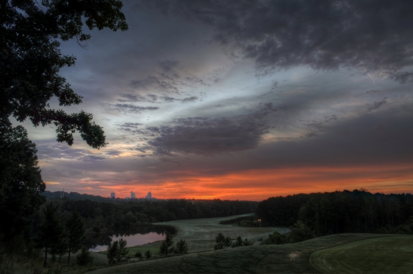 Raleigh Sunrise 20130822