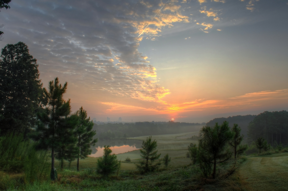 Raleigh Sunrise 20130828