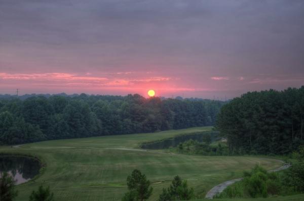 Raleigh Sunrise 20130829