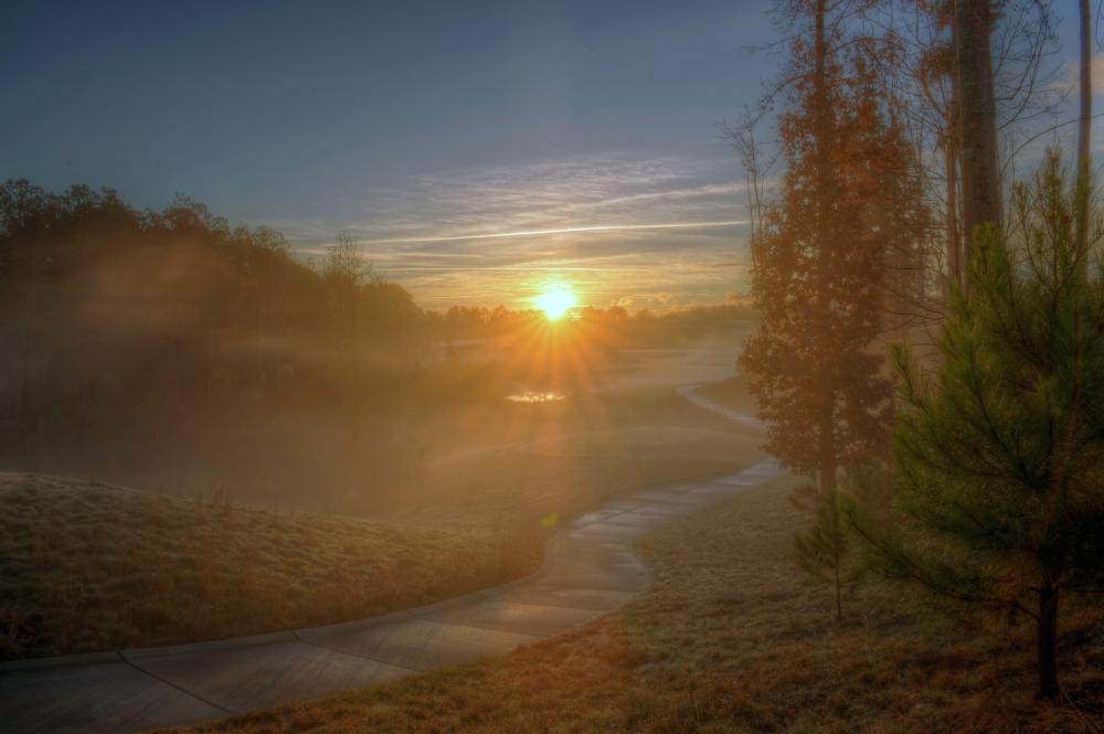 Raleigh Sunrise 20131123