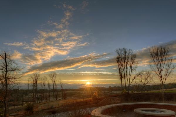 Raleigh Sunrise 20131224