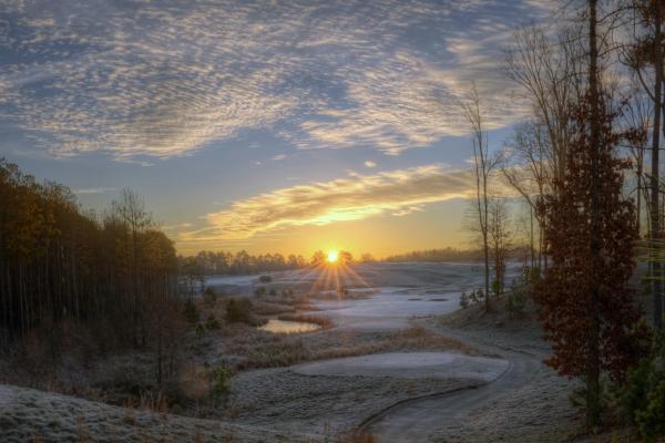 Raleigh Sunrise 20131228
