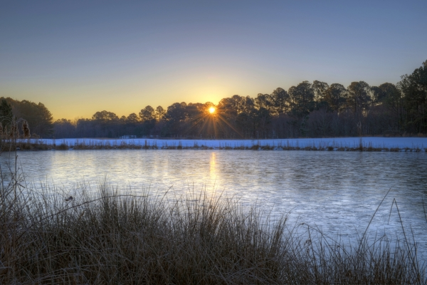 Raleigh Sunrise 20140131