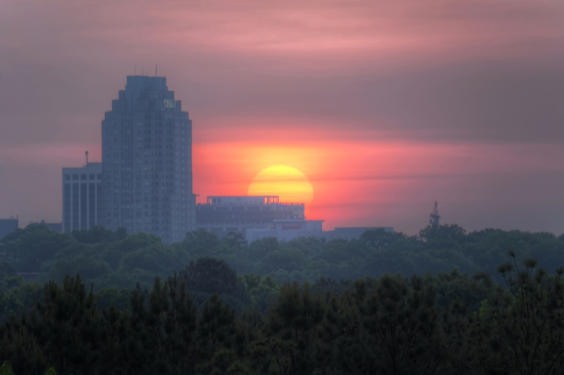 Raleigh Sunrise 20140521