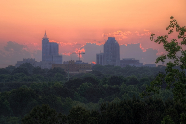 Raleigh Sunrise 20140526