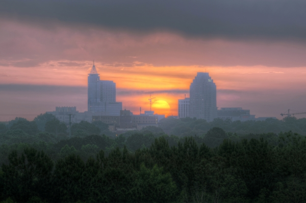 Raleigh Sunrise 20140530