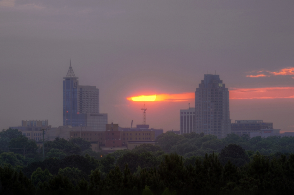 Raleigh Sunrise 20140605