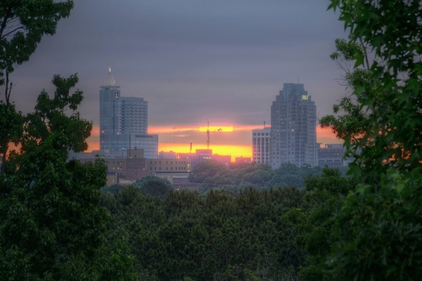 Raleigh Sunrise 20140606