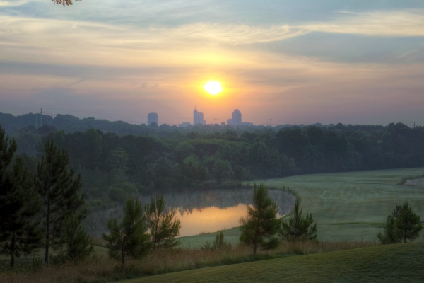 Raleigh Sunrise 20140608