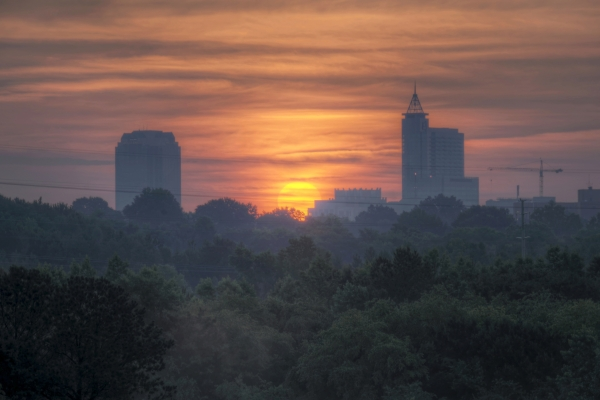 Raleigh Sunrise 20140613