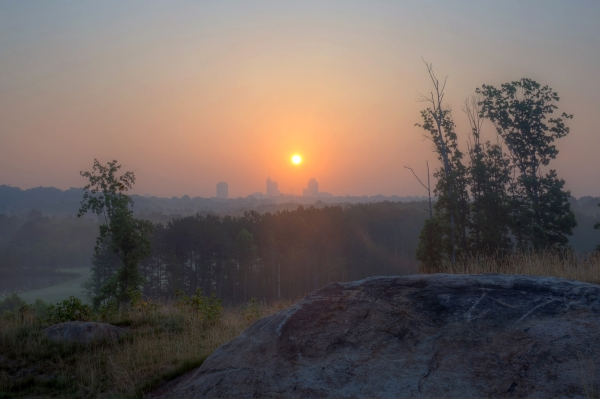 Raleigh Sunrise 20140616