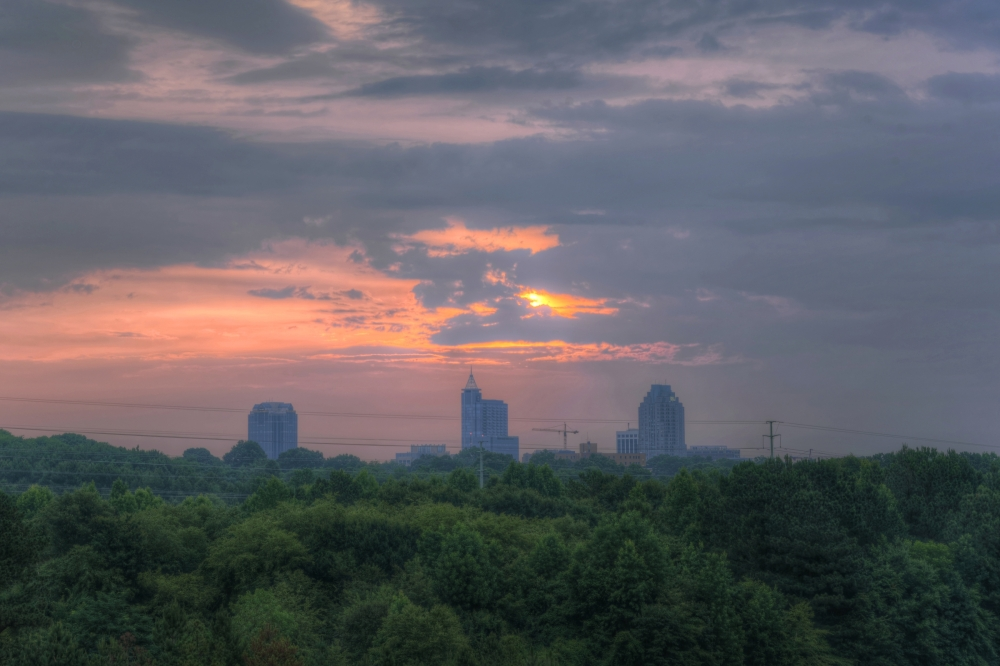Raleigh Sunrise 20140627