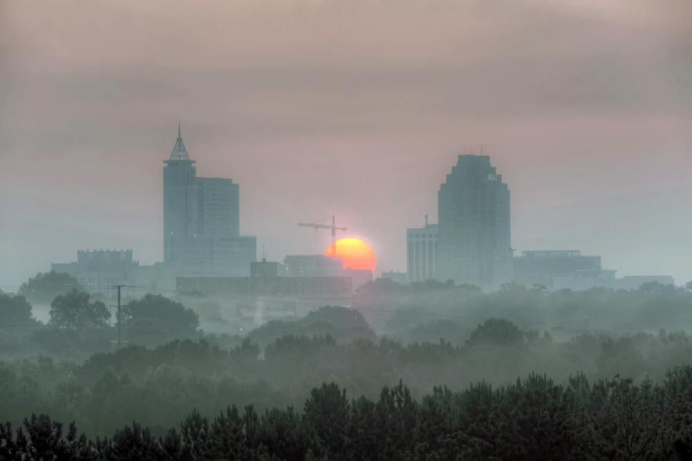 Raleigh Sunrise 20140712