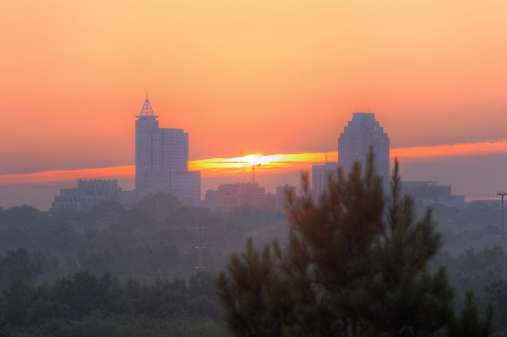 Raleigh Sunrise 20140717
