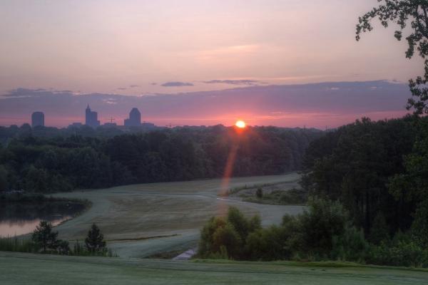 Raleigh Sunrise 20140813