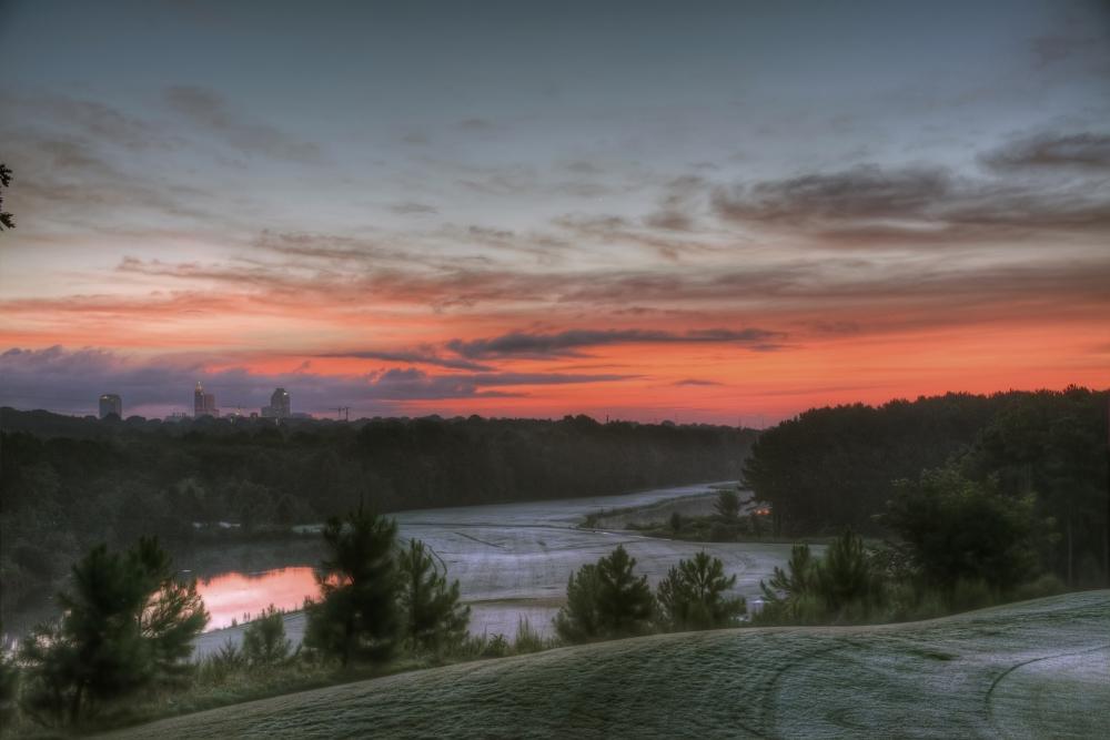 Raleigh Sunrise 20140831