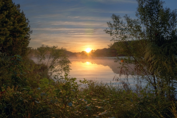 Raleigh Sunrise 20141009