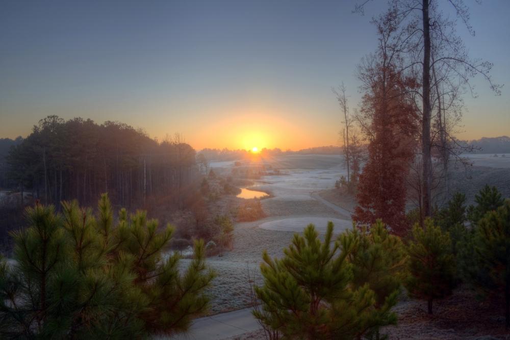Raleigh Sunrise 20141130