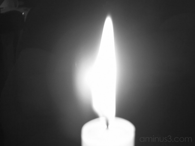 Candle in the wind...
