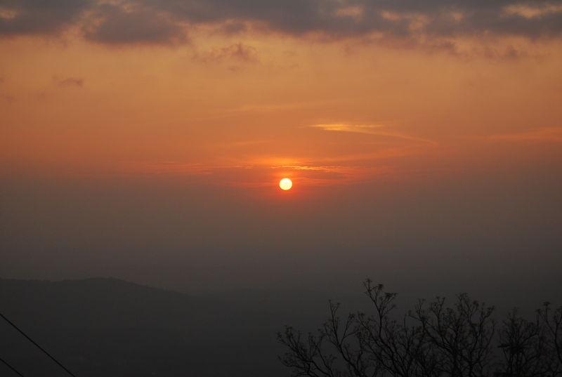 Sunset at Agumbe