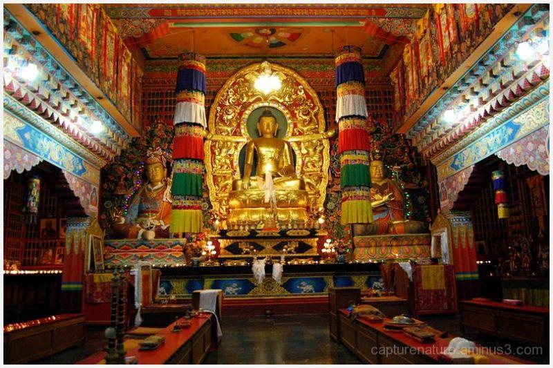 Lingdum monastery,Buddhism,Gangtok,Sikkim,