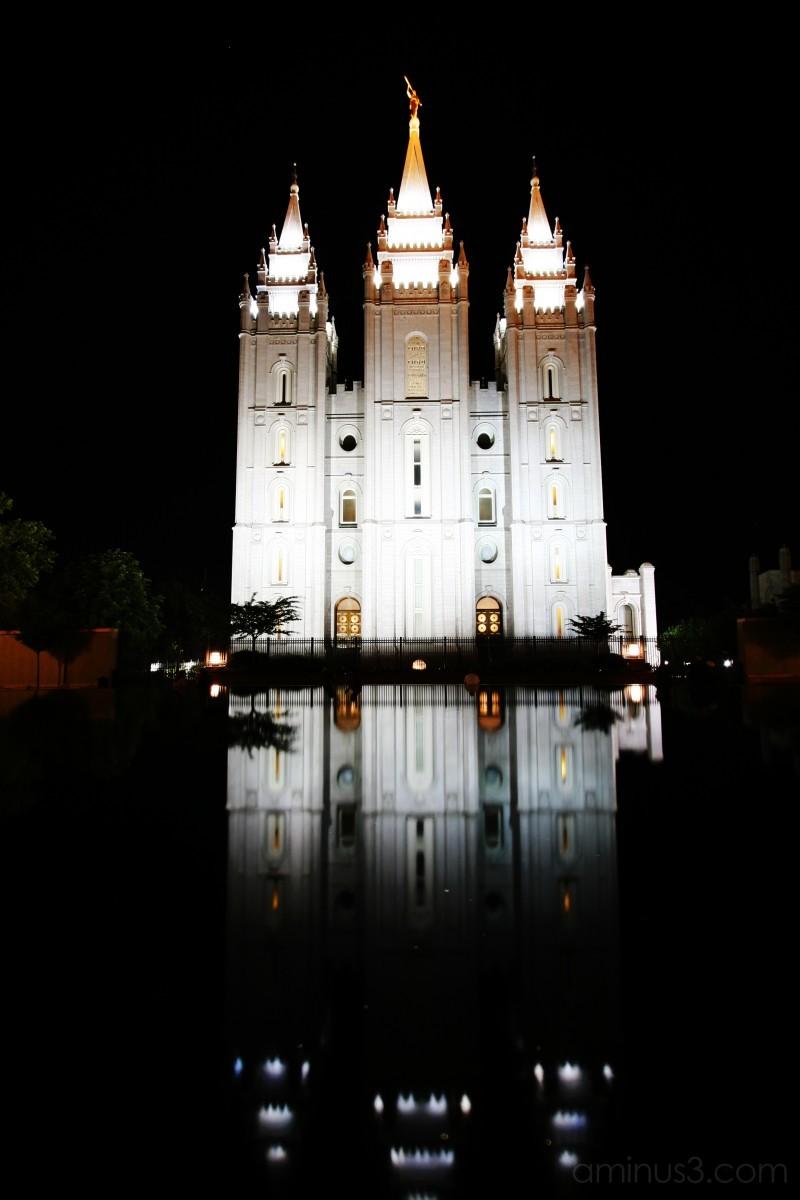Temple in Salt Lake City