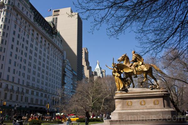 Columbus Circle Statue