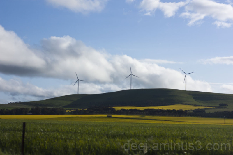 Countryside wind power