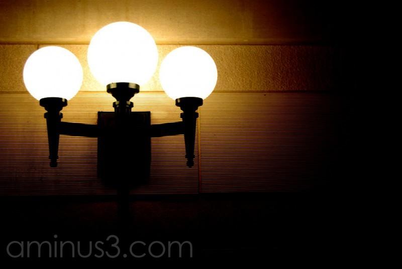 Lights aglow...