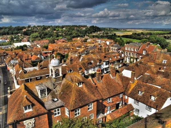 Over the roofs of Rye