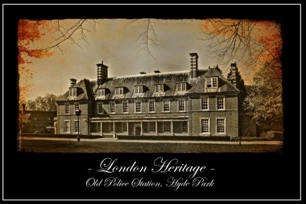 London Heritage: Old Police Station, Hyde park