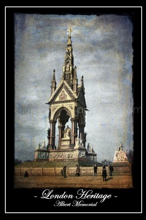 London Heritage: Albert Memorial