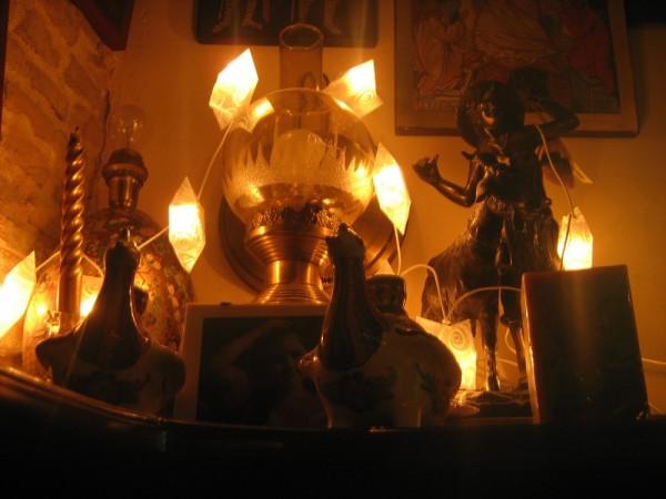 Christmas decoration light composition