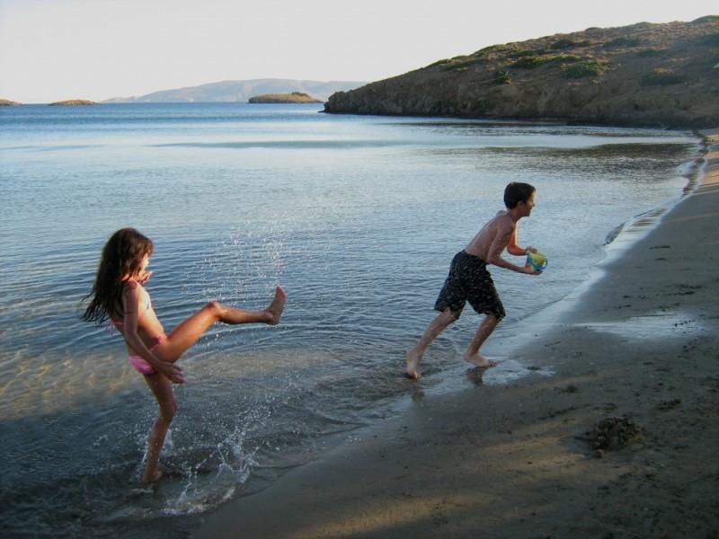 Steno beach Astypalea island Dodecanese