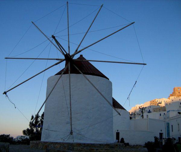 windmills astypalea chora dodecanese