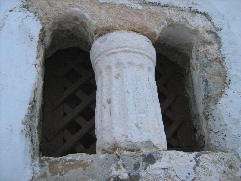 church window architecture Astypalea   Dodecanese
