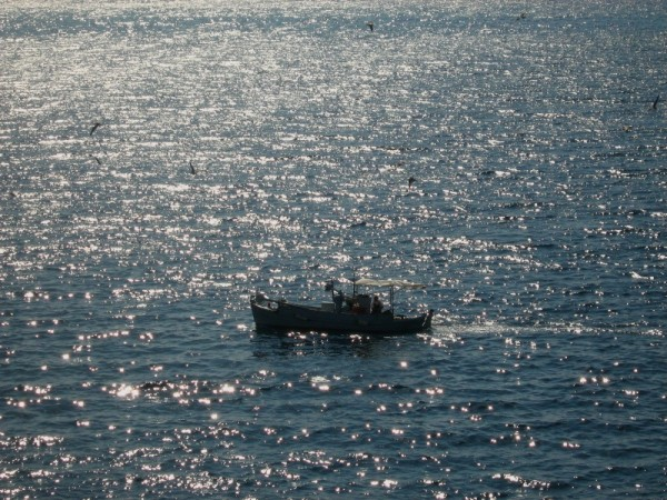 fishing boat sea