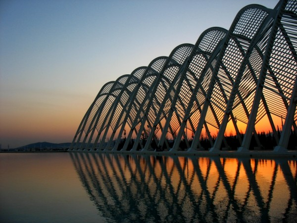 Curves design Olympic Stadium Athens architect Cal