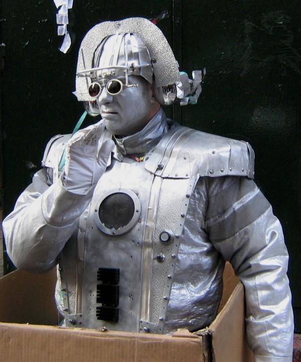 robot happening Athens