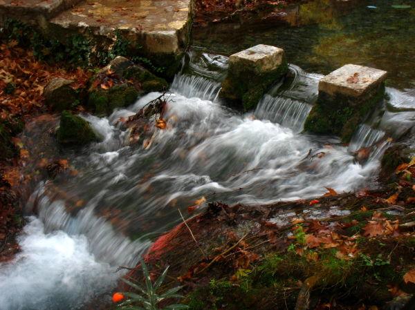 Livadia waterfall greece