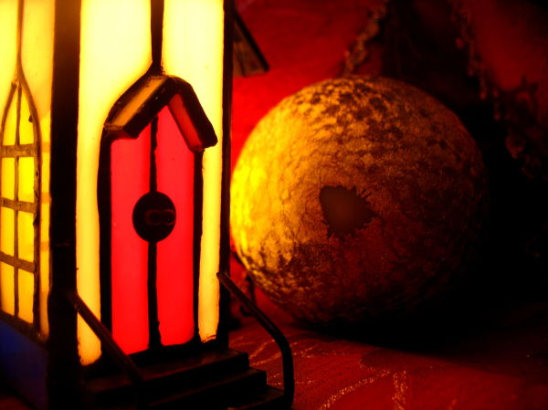 candle decoration  Christmas church ball