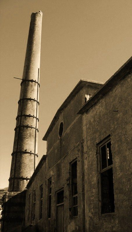 old  factory pottery Kea Tzia island greece