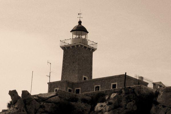 lighthouse Melagavi loutraki hereon greece
