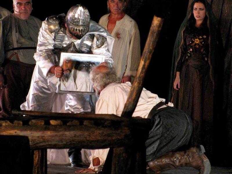 theatrical Don Quijote de la Mancha Kimoulis