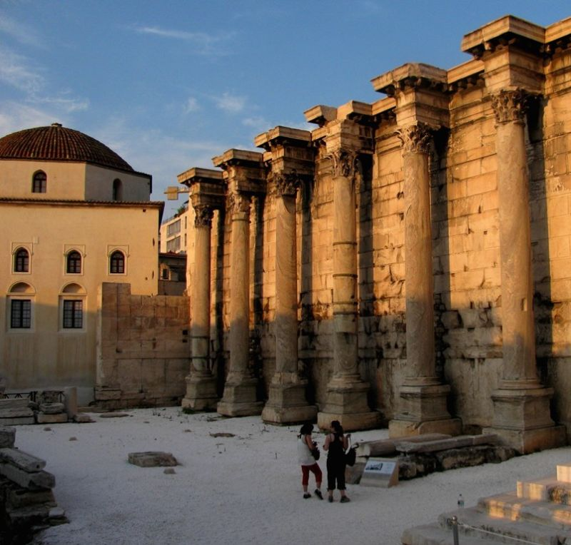 Hadrian's Library Athens