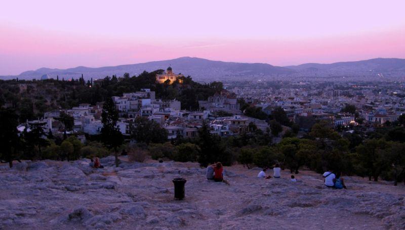 Arios pagos Hill Athens